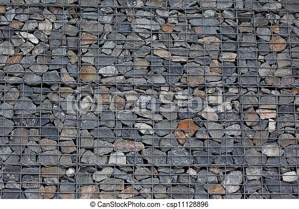 Pierres, mur, gabion, fait, gris photographies de stock - Rechercher ...