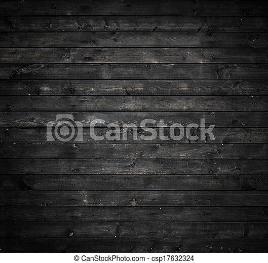 mur, gris, bois - csp17632324