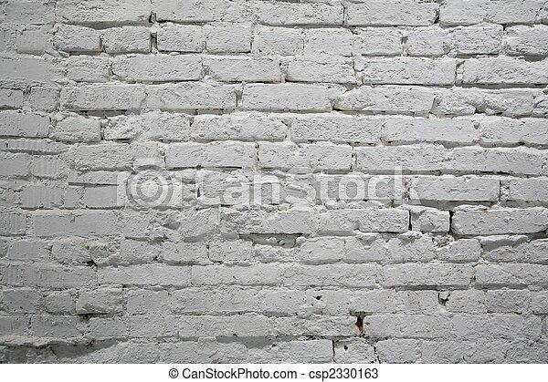 mur peint, brique - csp2330163