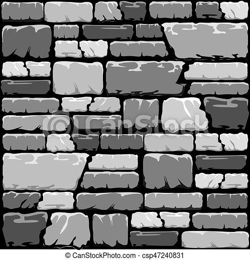 Mur Pierre Gris Fond Pierre Eps10 Mur Format Gris Tones