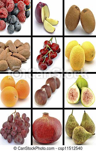 Mural of fruits - csp11512540