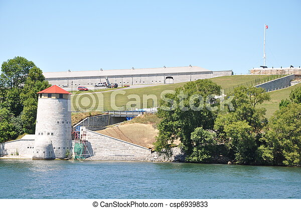 Murney Tower in Kingston, Canada - csp6939833