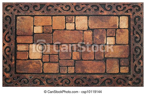muro pietra, struttura - csp10119144