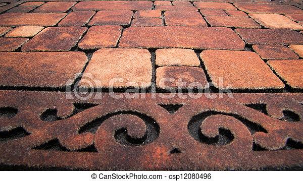 muro pietra, struttura - csp12080496