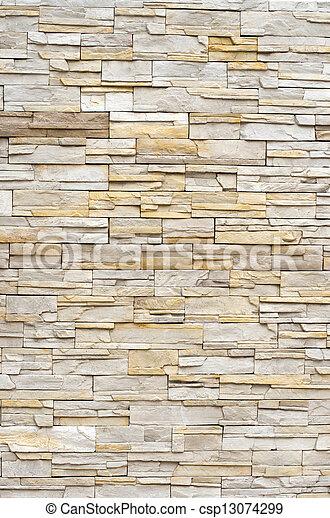 muro pietra, struttura - csp13074299