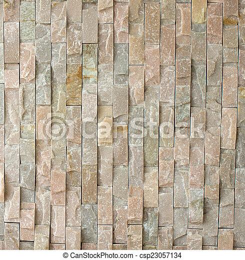 muro pietra, struttura - csp23057134