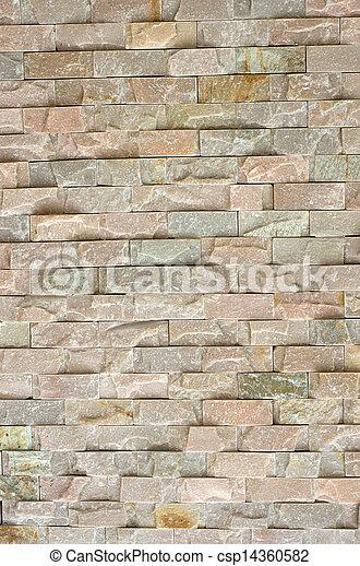 muro pietra, struttura - csp14360582