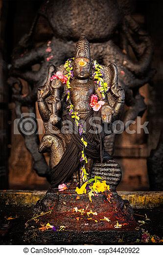 Murugan image  Brihadishwara Temple, Tanjore
