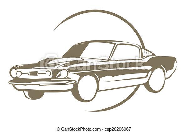 Muscle Car - csp20206067