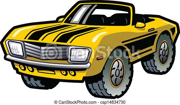 Muscle Car - csp14834730