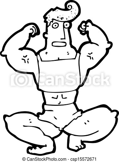 Muscle Dessin Anime Homme
