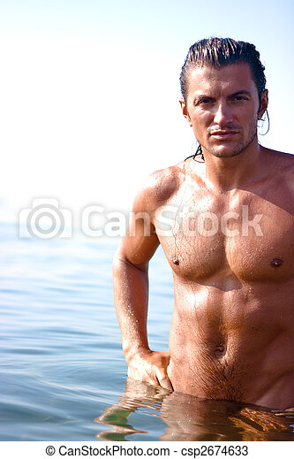 Muscular man - csp2674633