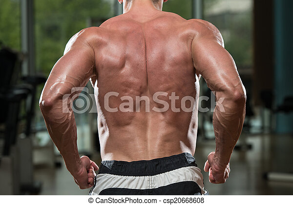 DONA: Muscle men flexing