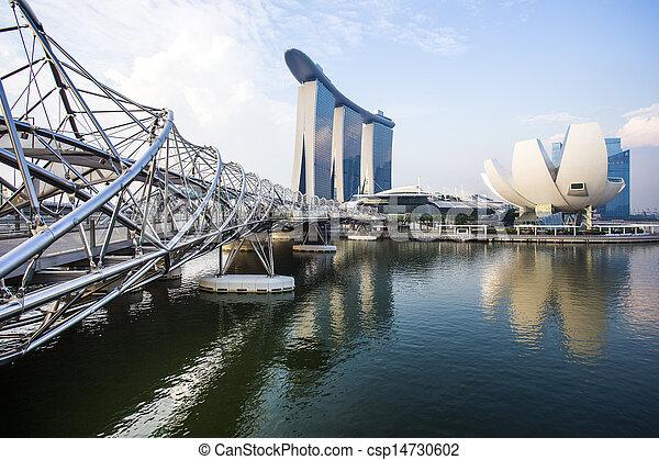 museo ciencia, punto de vista, singapur - csp14730602