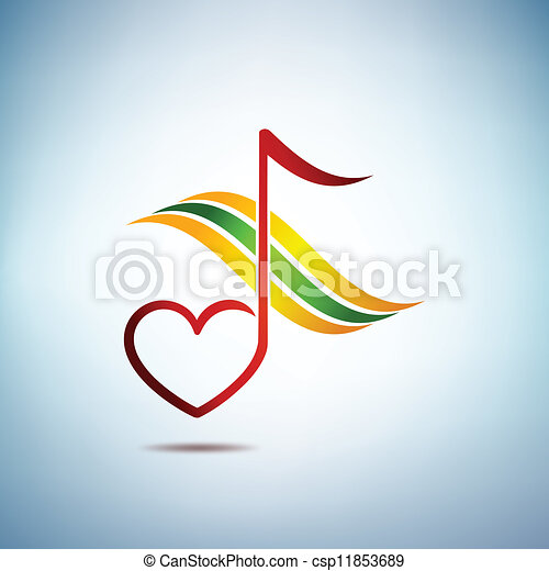 Music and harmony - csp11853689