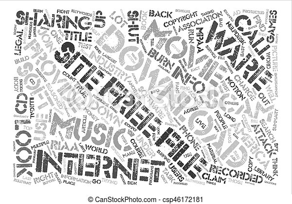 Music And Movies Download Sites Are They A Scam text background word cloud  concept