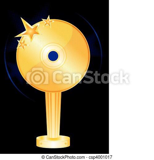 Music award - csp4001017
