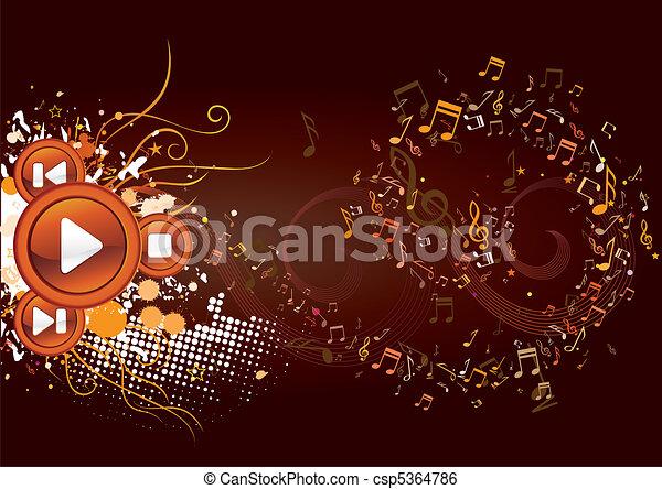 music background - csp5364786