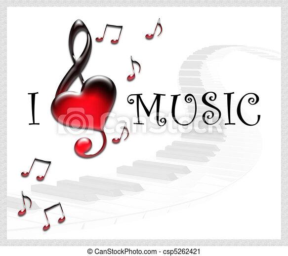 music background - csp5262421