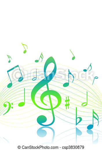 Music background - csp3830879