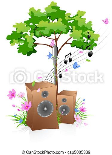 Music background - csp5005339