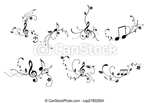 Music background - csp21852924