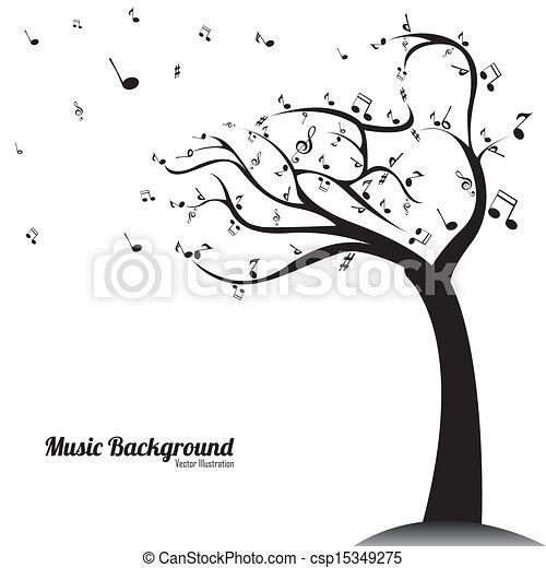 music background - csp15349275