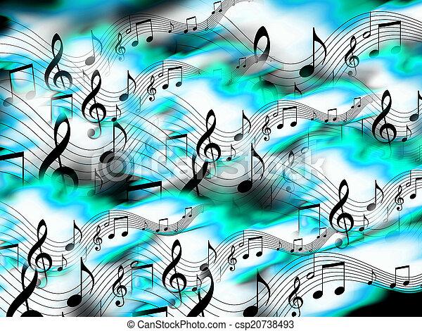 Music Background - csp20738493