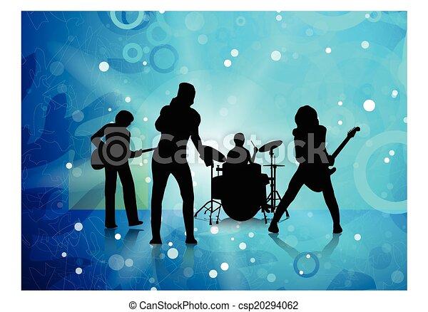 Line Art Vector Illustrator : Jpeg file from vector illustrator program present music clip