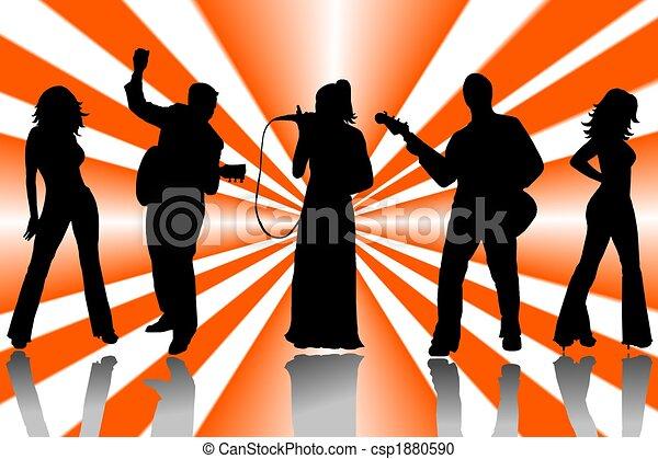 music band - csp1880590