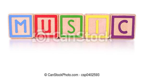 Music blocks - csp0402593