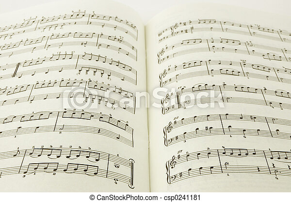 music book - csp0241181