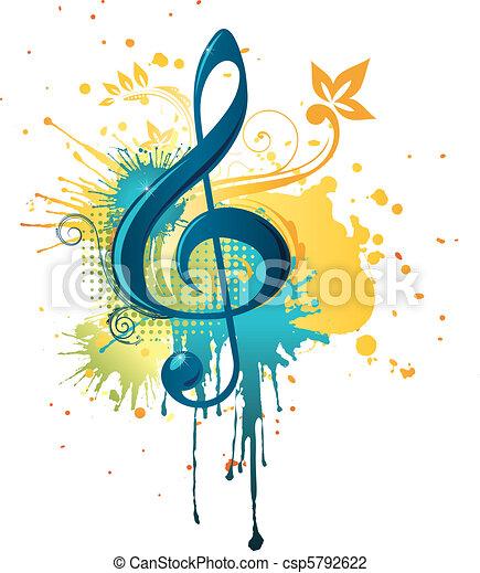 music clef csp5792622