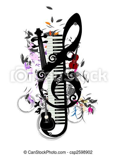 music - csp2598902