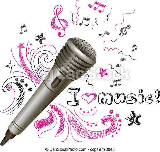 Music Doodle Microphone Music Doodle Karaoke Microphone Musical