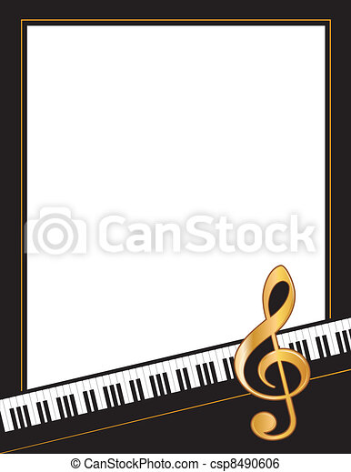 Music Entertainment Event Poster  - csp8490606