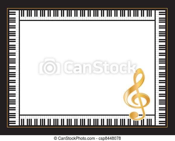Music Entertainment Poster Frame - csp8448078