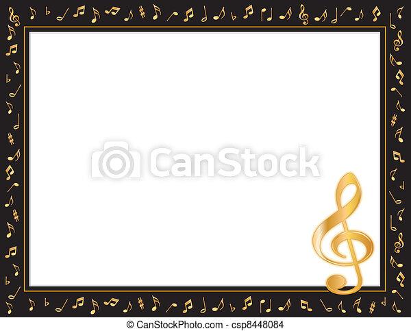 Music Entertainment Poster Frame - csp8448084