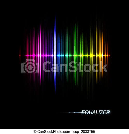 Music equalizer - csp12033755