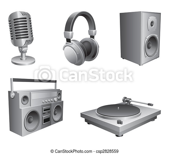 Music equipment. - csp2828559