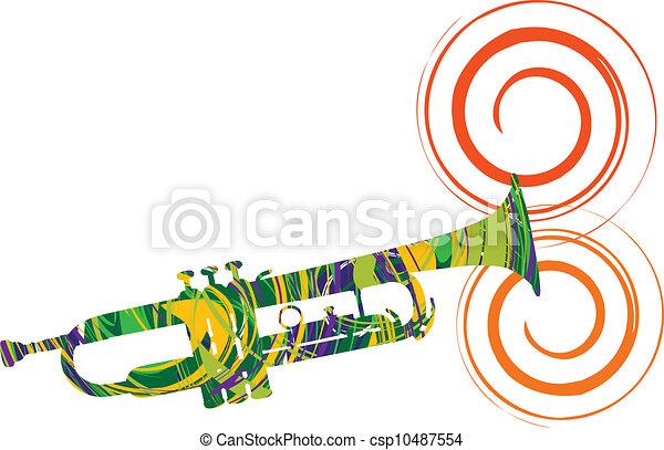 music festival illustration - csp10487554