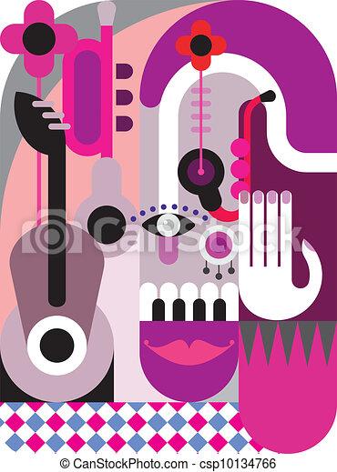 Music Festival Poster Music Festival Abstract Vector