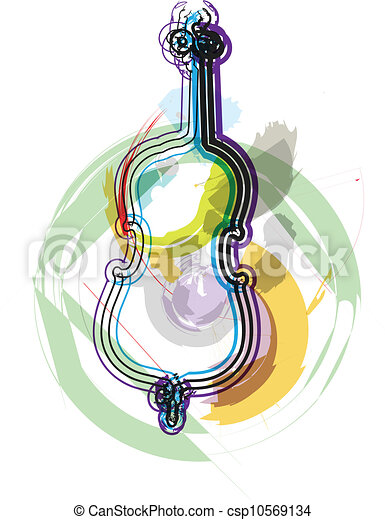 Music festival. Vector illustration - csp10569134