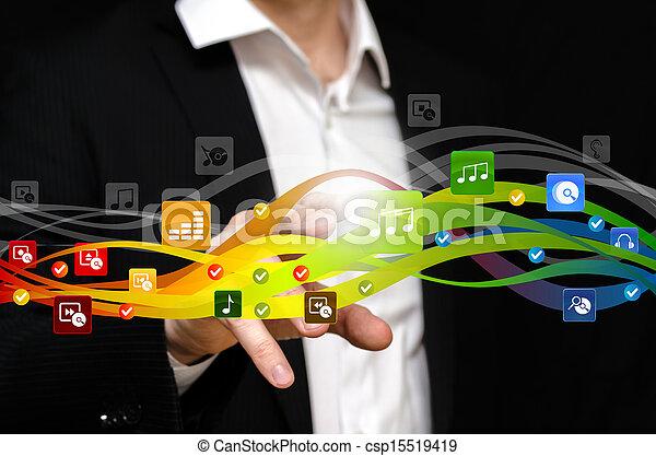 Music flow - csp15519419