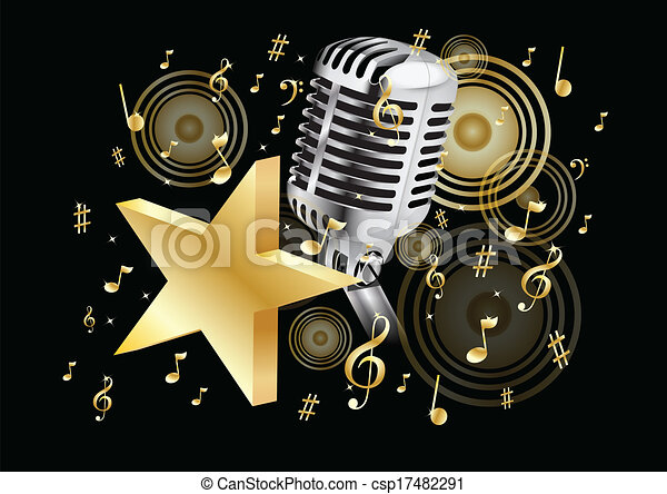 music gold - csp17482291