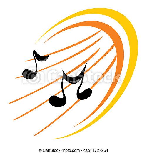 Music icon - csp11727264