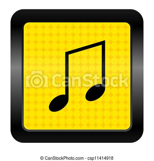 music icon - csp11414918