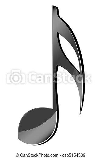 music icon - csp5154509