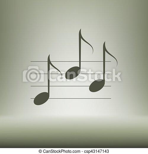 Music icon - csp43147143