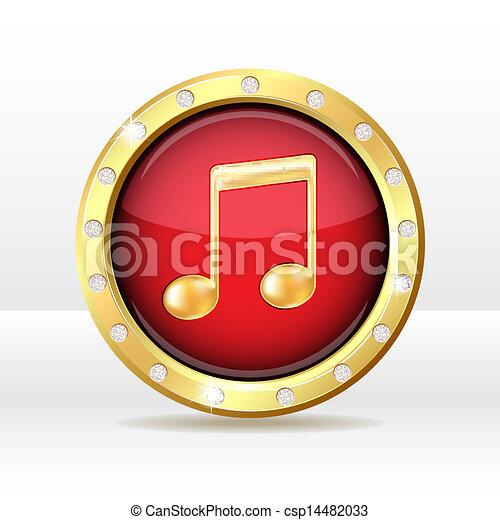Music icon - csp14482033